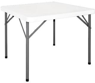 Table carrée pliante standard