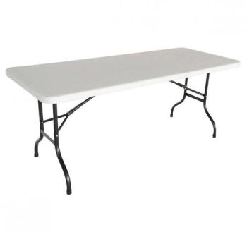 Table pliante 183cm 8 places