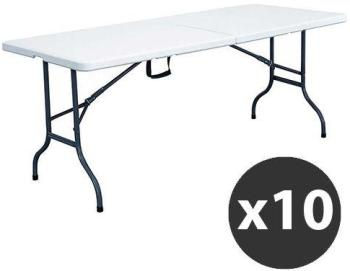 Lot de 10 Tables pliantes