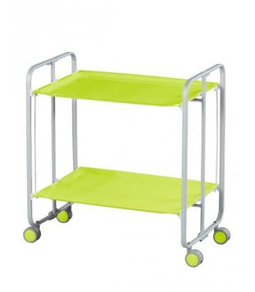 Table Roulante Pliante Vert