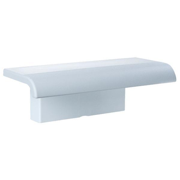 Tablette de douche blanche
