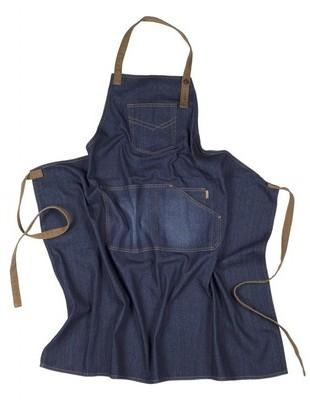 Tablier Denim Bavette