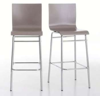 Chaises de bar (lot de 2)