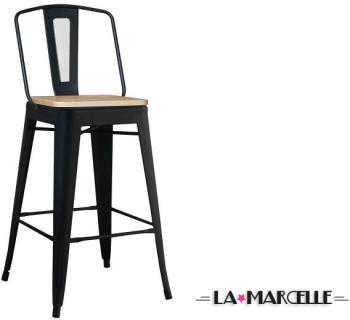 Tabouret de bar tôle design