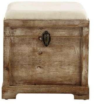 Coffre banc en bois L 39 cm