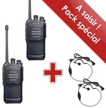 Pack de 2 HYT TC 446S Pro