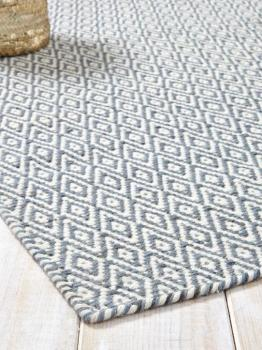 Tapis graphique pure laine
