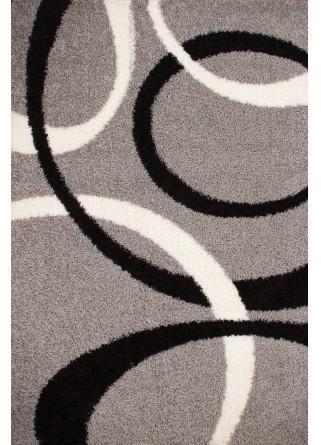 Tapis moderne gris Dresden