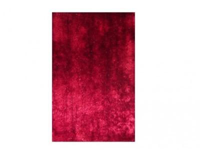 Tapis Shaggy rouge - 160x230