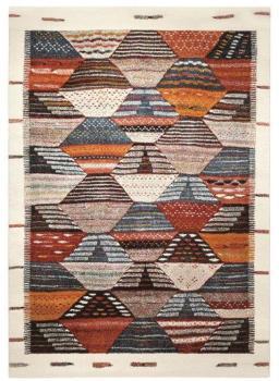 Tapis Modern Berber multicolore