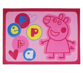 Tapis Enfant Peppa Pig Rose