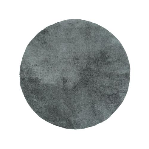 tapis rond 200 cm tapis design 39 cava 39 rond poils longs gris 200 cm achat tapis rond 200 cm. Black Bedroom Furniture Sets. Home Design Ideas
