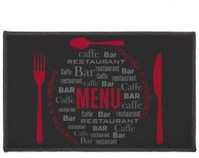 Tapis de cuisine (80 cm) Menu