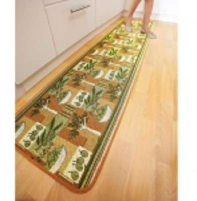 Tapis anti-poussi re motif