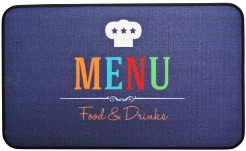 Tapis De Cuisine Design Menu