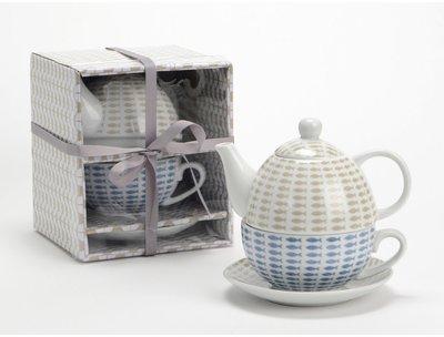 Théière tasse en porcelaine
