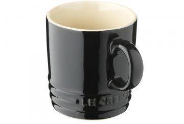 Tasse Cappuccino Noir Ebene