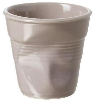 Gobelet froissé taupe - Tasse