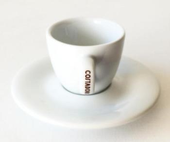 Tasse et sous tasse à café