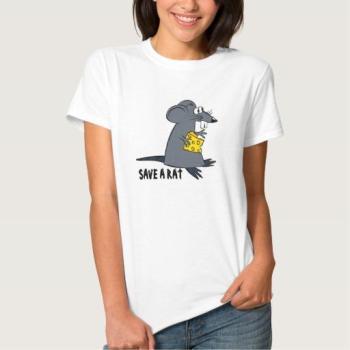 Sauvez un T-shirt de rat