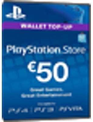 PSN Card 50 Euro DE - Playstation