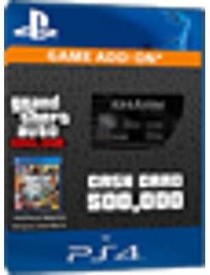 GTA Online Cash Card - 500