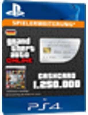 GTA Online Cash Card - 1 250