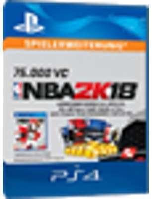 NBA 2K18 PS4 - 75000 VC -