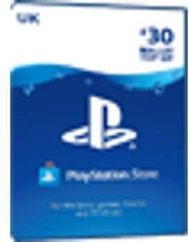 PSN Card 30 Pound UK - Playstation