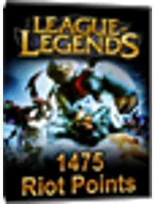 League of Legends - 1475 Riot