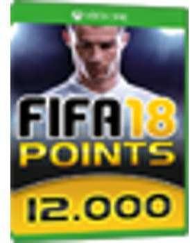 12000 FUT Points - FIFA 18