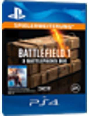 Battlefield 1 PS4 - 3 Battlepacks