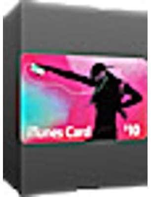 Carte-cadeau iTunes 10
