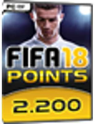 FIFA 18 - 2200 points FUT