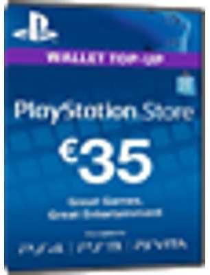 PSN Card 35 Euro DE - Playstation