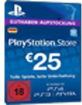 PSN Card 25 Euro DE - Playstation