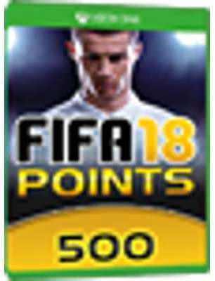 500 FUT Points - FIFA 18 Xbox