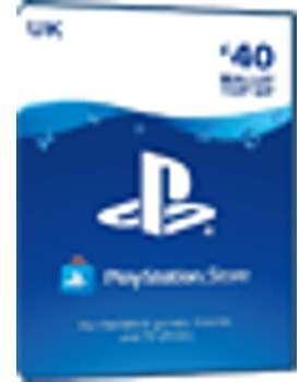 PSN Card 40 Pound UK - Playstation