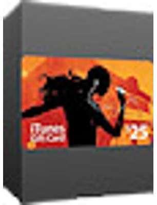 Carte-cadeau iTunes 25