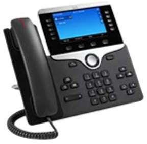 8841 Téléphone IP câble fixation