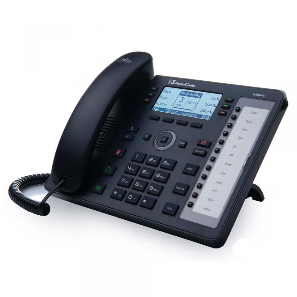 Audiocodes 430HD (avec alim)