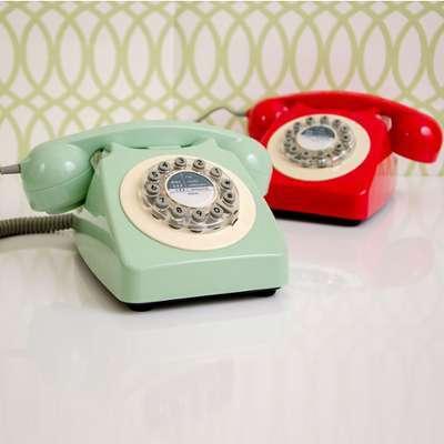 Téléphone Vintage Rouge