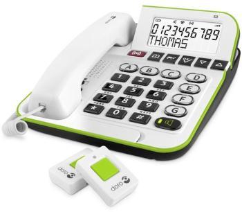 Téléphone amplifié avec alarme