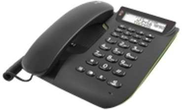 Doro Comfort 3005 Black Téléphone