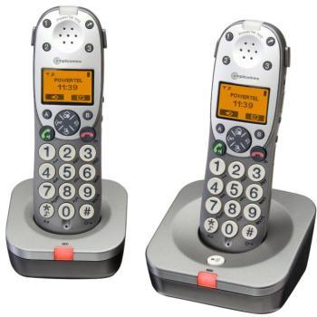 Téléphone sans fil duo Amplicomms