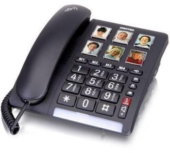 Téléphone filaire touches