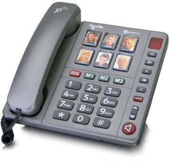 Téléphone amplifié avec photo