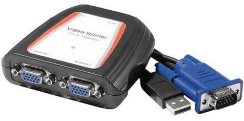 Splitter VGA 2 voies 250MHz