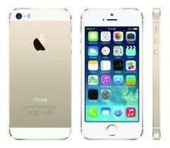 Iphone 5s 16gb blanc et or