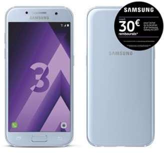 Samsung Galaxy A3 2017 - Bleu